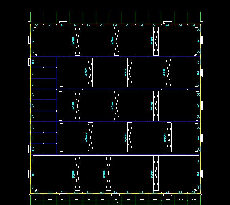 看钢筋图_某公司钢筋结构工程CAD施工图