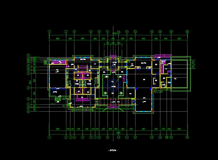 某酒店建筑全套CAD设计图纸