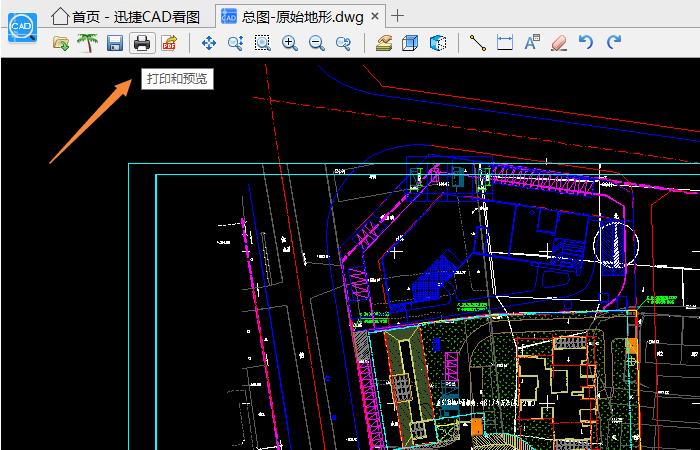 迅捷CAD看图如何打印图纸?CAD打印设置方法